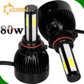 h7 led headlight, G20 80w 8000lm fan built in all in one led headlgiht bulbs conversion kits 6000k xenon white h7 led light auto