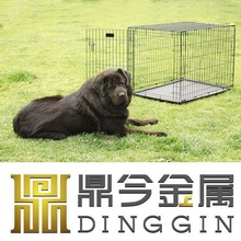 Secure Wire Dog House Cage