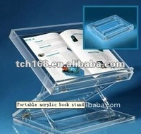 Portable acrylic table top lectern