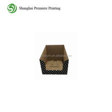 Polka-dot Pos Pop Recycle Corrugated Paper Cardboard Counter Display