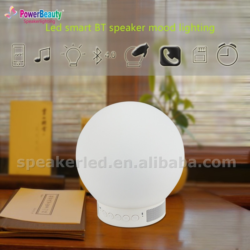 2016 New Bluetooth Smart Led Light Bulb Android System Music Speaker Player RGB White Bulb Lamp Audio