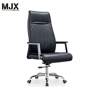new design European high back black PU leather executive chair