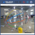 2m transparent pvc inflatable water walking ball/water balls for sale