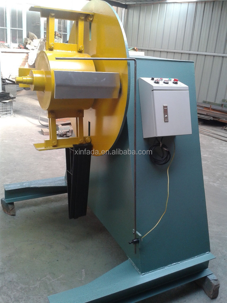 hydraulic decoilier /uncoiler machine