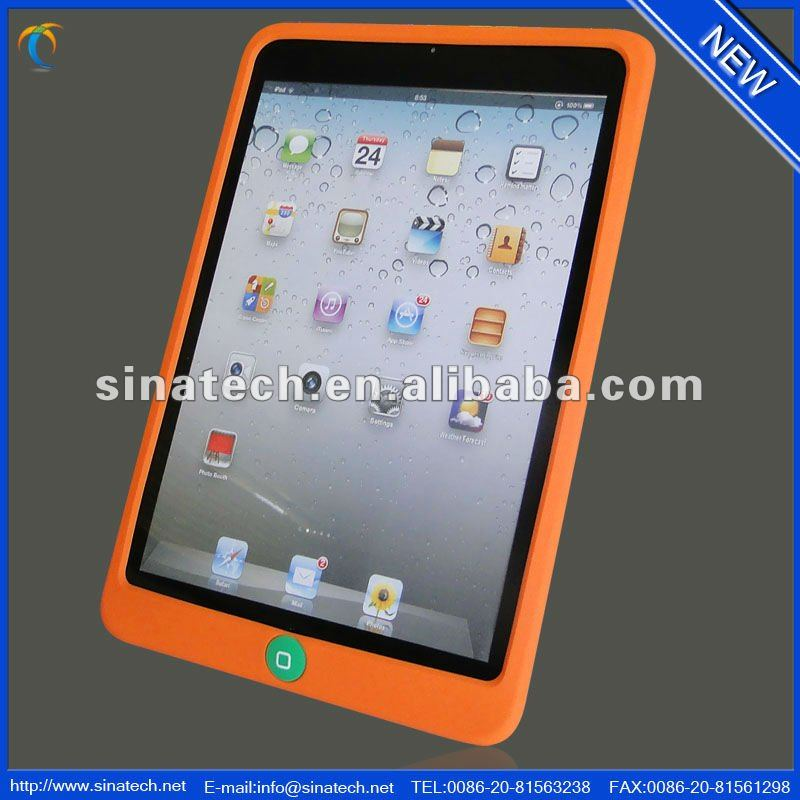 distribution opportunity fashion soft slim colorful silicone case for ipad mini tablet 7.9