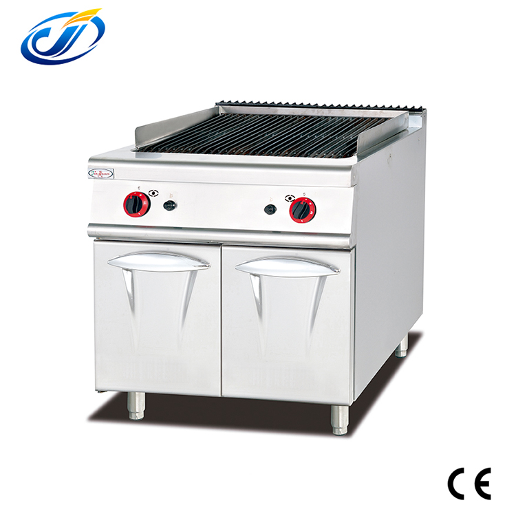 High quality gas lava rock char grill machine for sale