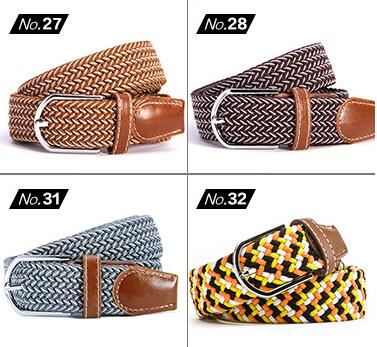 Fashion Canva <strong>Belt</strong> Stretch Braided Elastic Durable Woven <strong>Belt</strong>