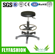 Ergonomical Durable Adjustable Laboratory Chair With Foot Ring