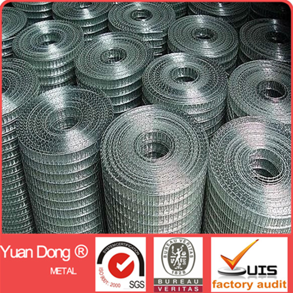 Factory supplier 3/4 inch welded wire mesh for construction