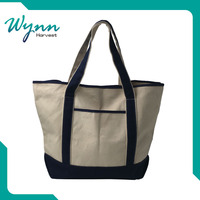 Refined and cultured cotton drawstring tote bag