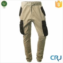 New design coloful stretch baggy unisex cargo pants