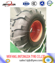 backhoe tire 16.9-24 R-4 with high quality and cheap price industrial tyre