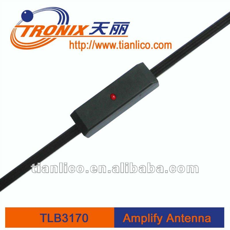 (Professional manufacturer)Electronic car antenna with PCB amplifier ISO DIN connector
