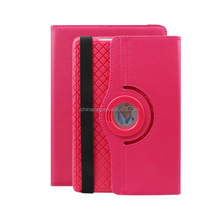Shockproof & Drop Rresistance with external rope Designed 360 Degree Roation pu leather tablet cover for Apple iPad Air1/2