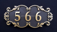 Metal Room Number And Decorative Metal Numbers