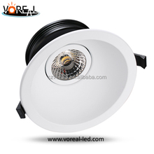 Top selling antig-glare design for Norway markt external driver edition downlight 30W cob led spotlight dimmable 2700k