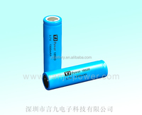 lifepo4 rechargeable battery 18500 3.7v 1300mah li ion battery with connectors auto batteries for laptop, led flashlight