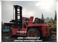 used 42ton kalmar load container handler