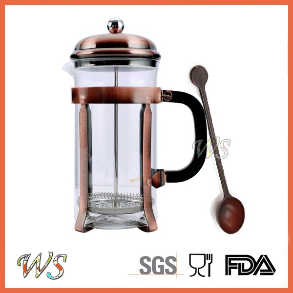 WS-PL724 Stainless steel French Press