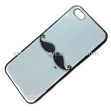 Hot-selling Beard Print Plastic Mobile Phone Case