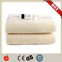 Polar fleece/100 cotton/coral flannel electric blanket/heating blanket from china factory