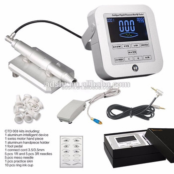Professional Biomaser semi permanent makeup tattoo machine for eyebrow embroidery