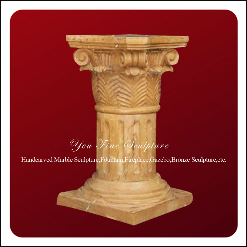 Handmade natural stone decorative column cover