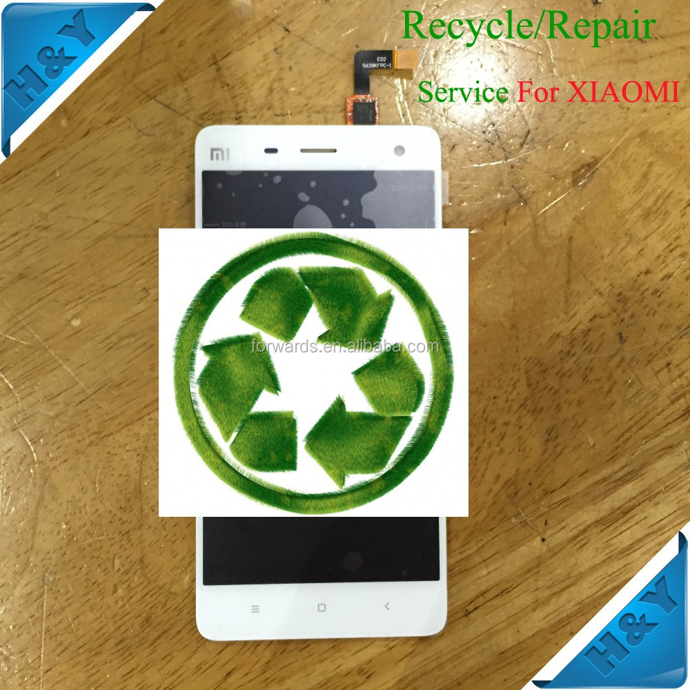 Recycle for Samsung J120 broken front cover cracked LCD screen display panel