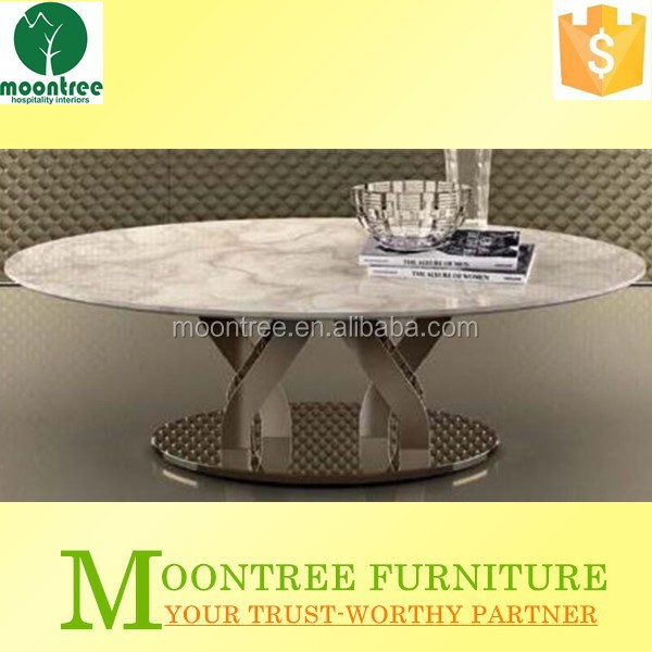 Moontree MCT-1152 china supplier marble top coffee table marble center table