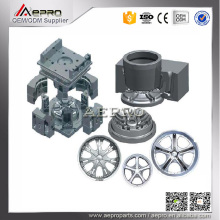 ISO 9001 OEM gravity die casting wheel alloy aluminum mould making