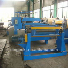 steel coil slitting production line machine
