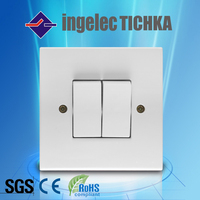 types of electric 2g wall switch made in china