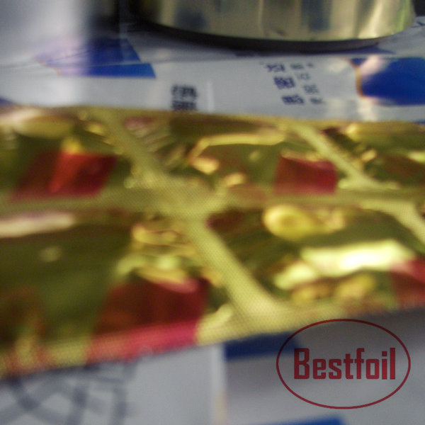 Pharmaceutical packaging Alu/PE strip foil for capsule