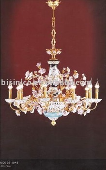 crystal chandelier, pendant lamp