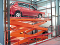 CE electric full rise scissor car lift