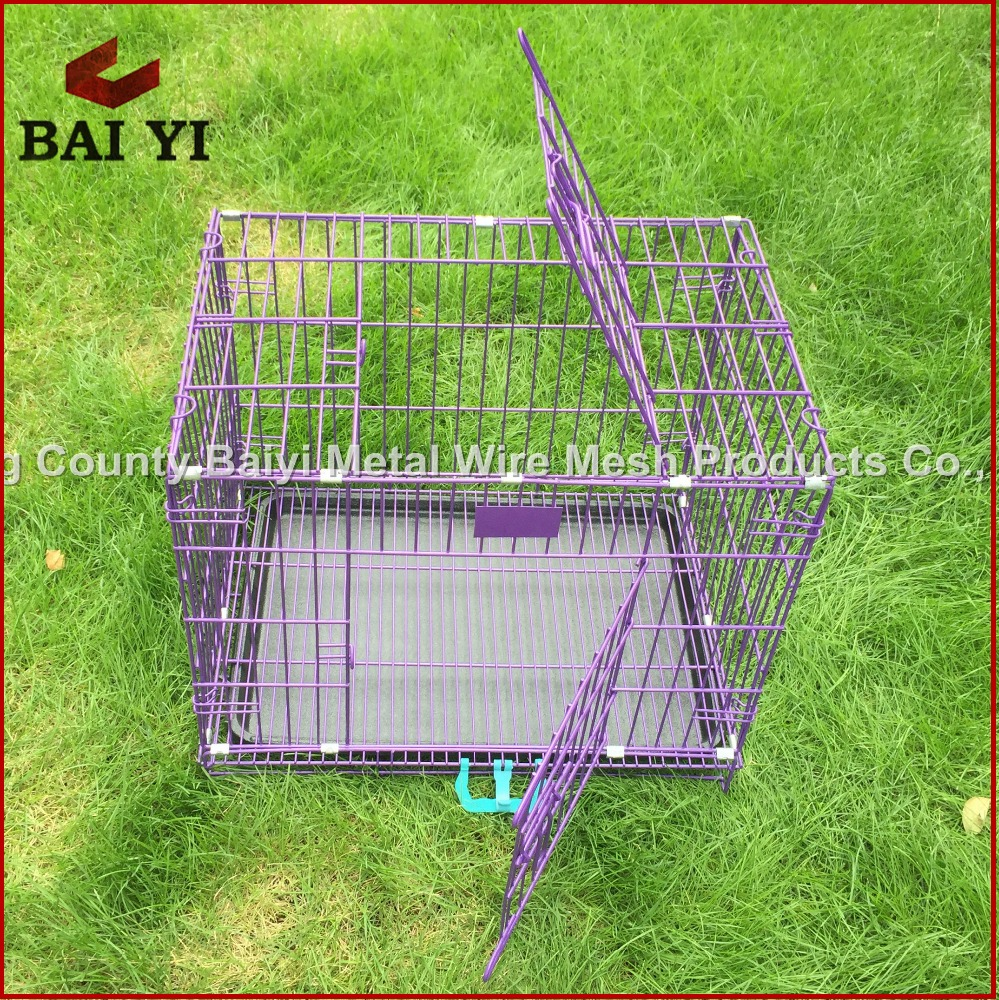 Decorative Metal Dog Crates Kennel for Sale