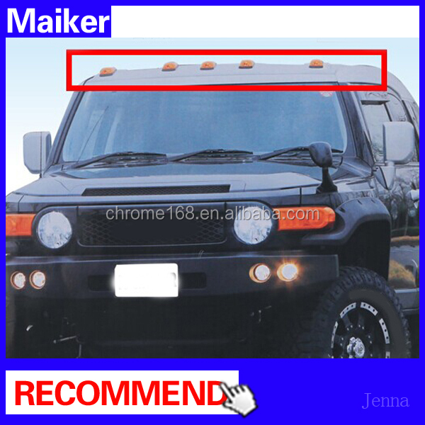 car roof lamp 4x4 for toyota fj cruiser accessories roof lamp cars auto parts