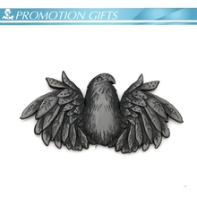 eagle shape plating metal badge emblem