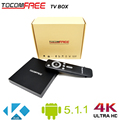 2016 Hot selling tocomfree tv box better than m8s plus android for worldwide