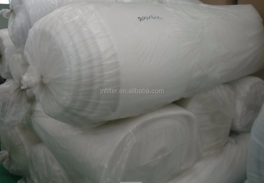 Pre polyester fabric air filter media/Roll air filter fabric for air conditioning