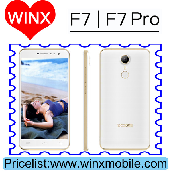Original Doogee F7 Pro 4GB RAM 32GB ROM 4000mAh Android 6.0 Cheap Cell Phone