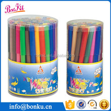 Promotional Gift Washable water color marker pen in plastic drum packed