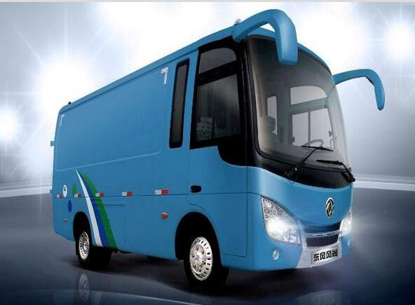 Dongfeng 4-6 seats special Bus EQ5040XXY3G for transport goods