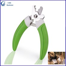 New Professional Pet Grooming Nail Clipper with Stainless Steel Cutter Head