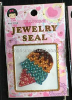 Rhinestone icecream adhesive sticker