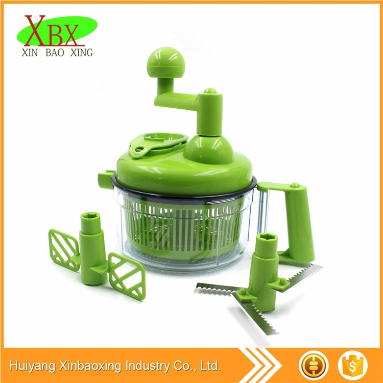 Multi Blades 16.8*16*17.9cm plastic/PP vegetable chopper