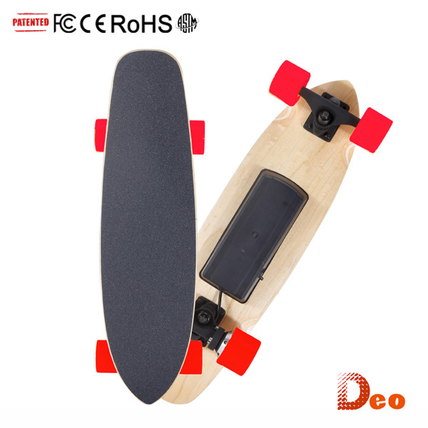Deo 10 Years Manufacturer Bluetooth Control Canadian Maple Wood Dc Motor One Wheel Electric Motorcycl