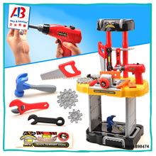Colorful Work Bench Toys Power Tools For Kids