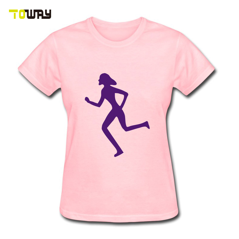 women 100% polyester custom running shirt