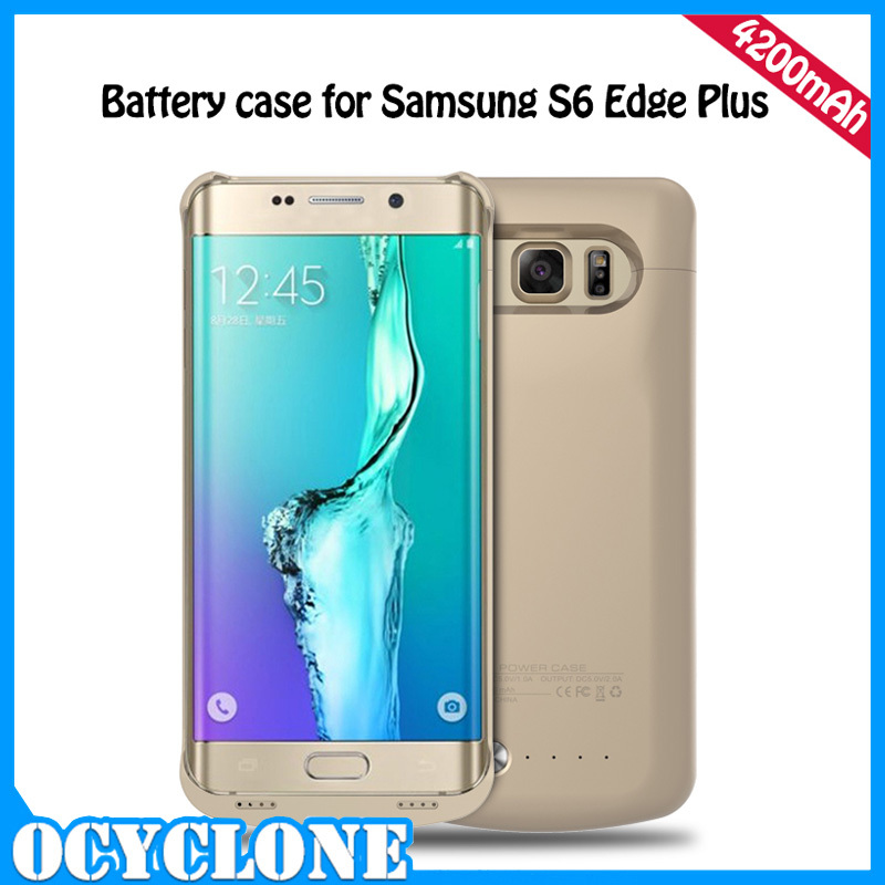 Hot Sale Factory Mobile External Battery Case For Samsung Galaxy S6 S6 Edge Plus